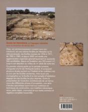 Olbia de Provence à l'époque romaine - 4ème de couverture - Format classique