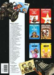 Spirou et Fantasio t.3 ; les chapeaux noirs - 4ème de couverture - Format classique