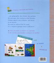 Mon atlas de France - 4ème de couverture - Format classique