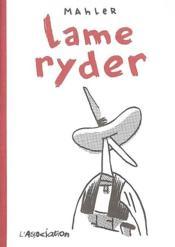 Lame Ryder - Couverture - Format classique