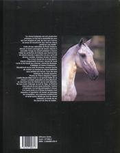 Le Cheval Lusitanien ; Elevage Et Traditions Equestres Au Portugal - 4ème de couverture - Format classique