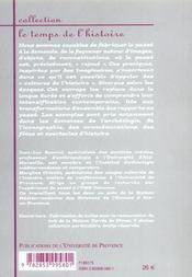Faconner Le Passe. Representations Et Cultures De L'Histoire - 4ème de couverture - Format classique