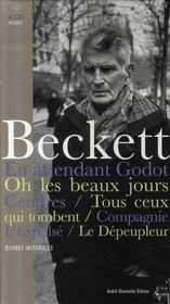 Samuel Beckett ; pièces radiophoniques ; oeuvres théâtrales - Intérieur - Format classique