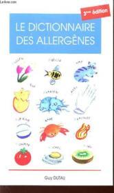 Dict.Des Allergenes 3eme - Couverture - Format classique