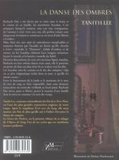 Opera De Sang T.1 ; La Danse Des Ombres - 4ème de couverture - Format classique