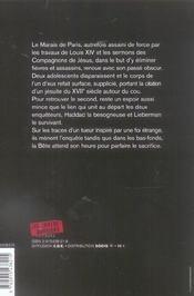 Impurs - 4ème de couverture - Format classique