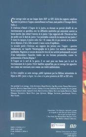 Les Juristes Et L'Argent ; Le Cout De La Justice Et L'Argent Des Juges Du Xiv Au Xix Siecle - 4ème de couverture - Format classique