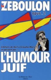 L'humour juif - Couverture - Format classique