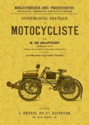 Guide-manuel pratique du motocycliste - Couverture - Format classique