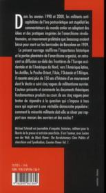 Cartographie de l'anarchisme révolutionnaire - 4ème de couverture - Format classique