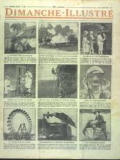 Dimanche Illustre N°286 du 19/08/1928 - Couverture - Format classique