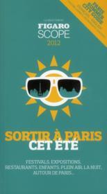 Sortir à Paris cet été - Couverture - Format classique