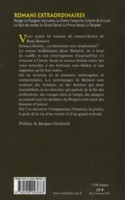 Romans extraordinaires - 4ème de couverture - Format classique