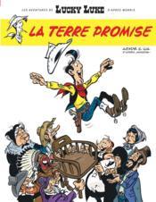 Les nouvelles aventures de Lucky Luke t.7 ; la terre promise - Couverture - Format classique