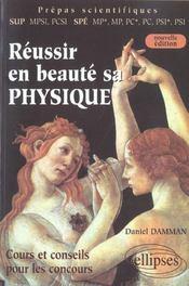 Reussir En Beaute Sa Physique 2e Edition Cours Et Conseils Pour Les Concours Sup Mpsi Pcsi Spe Mp - Intérieur - Format classique