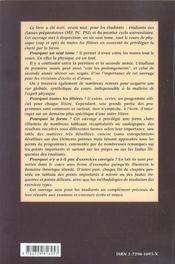 Reussir En Beaute Sa Physique 2e Edition Cours Et Conseils Pour Les Concours Sup Mpsi Pcsi Spe Mp - 4ème de couverture - Format classique