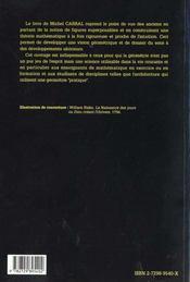 Geometrie - 4ème de couverture - Format classique