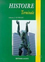 Histoire terminale - Couverture - Format classique