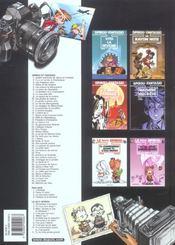 Spirou et Fantasio t.4 ; Spirou et les héritiers - 4ème de couverture - Format classique