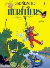 Spirou et Fantasio t.4 ; Spirou et les héritiers - Couverture - Format classique