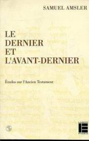 Dernier Et Avant Dernier - Couverture - Format classique
