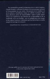 Le Sycophante Et Le Redime Ou Le Mythe De Judas - 4ème de couverture - Format classique
