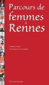 Parcours de femmes à Rennes - Couverture - Format classique