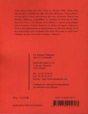 Dépositions ; le charme de la laideur - 4ème de couverture - Format classique