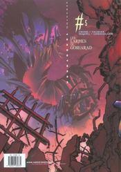 Kookaburra universe t.5 ; les larmes de Gosharad - 4ème de couverture - Format classique