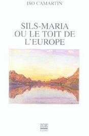 Sils Maria Ou Le Toit De L'Europe (Poche) - Intérieur - Format classique