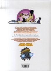 Lizard Johnny t.1 ; l'oeuf de chromos - 4ème de couverture - Format classique