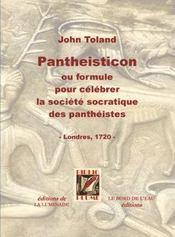 Pantheisticon - Intérieur - Format classique