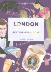 London ; restaurants & more - Couverture - Format classique