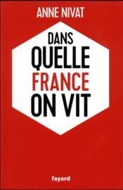 Vente  Dans quelle France on vit  - Nivat-A - Anne Nivat