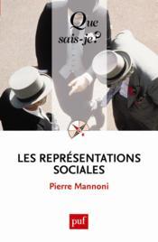 Les représentations sociales (6e édition) - Couverture - Format classique