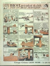 Dimanche Illustre N°287 du 26/08/1928 - 4ème de couverture - Format classique