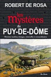 Les mystères du Puy-de-Dôme - Couverture - Format classique
