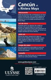 Cancún et la riviera Maya (8e édition) - 4ème de couverture - Format classique