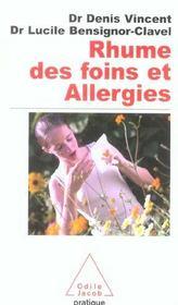 Rhume des foins et allergies du nez - Intérieur - Format classique