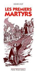 Premiers Martyrs - Couverture - Format classique