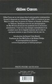 Gilles caron - 4ème de couverture - Format classique
