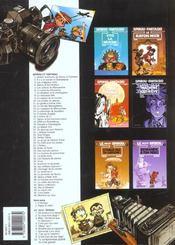 Spirou et Fantasio t.5 ; les voleurs du Marsupilami - 4ème de couverture - Format classique