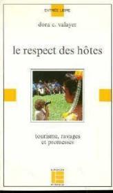 Le Respect Des Hotes - Couverture - Format classique