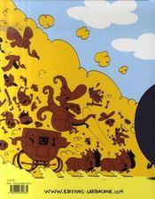 Poncho et Semelle t.1 ; joyeux western - 4ème de couverture - Format classique
