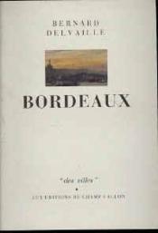 Bordeaux - Couverture - Format classique