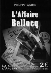 L'affaire Bellocq - Couverture - Format classique