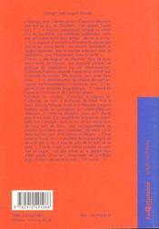 Voyager Avec Jacques Derrida - La Contre-Allee - 4ème de couverture - Format classique