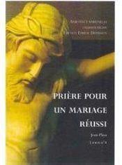 Prière pour un mariage réussi - Couverture - Format classique