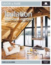 Isolation interieur & exterieur