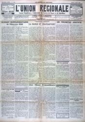 Union Regionale (L') N°1040 du 04/08/1938 - Couverture - Format classique